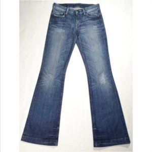 COH Low Waist Full Leg Jeans Faye#003 1749E1M
